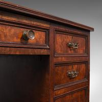 Antique Morning Room Desk, English, Walnut, Writing Table, Victorian c.1880 (10 of 12)