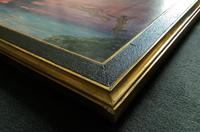 'The Last Throw' Original Signed 1972 Vintage Seascape Oil On Board Painting' (11 of 13)