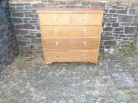 Arts & Crafts Oak Chest of Drawers (11 of 14)