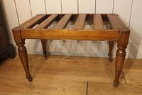 Victorian Luggage Rack, Suitcase Stand (8 of 10)