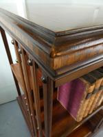 Fine Edwardian Revolving Bookcase (8 of 9)