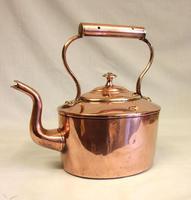 Antique Victorian Copper Kettle (6 of 6)