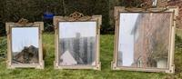 Set of Three Painted & Gilt Mirrors (4 of 9)