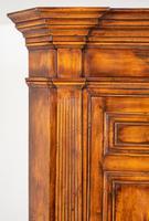 Cherry Wood Georgian Style Panelled Corner Cabinet (4 of 7)