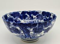 Antique Porcelain Chinese Blue & White Bowl (6 of 6)