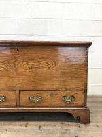 18th Century Elm Mule Chest with Hinged Top (3 of 14)