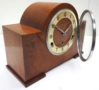 Good Arched Top Art Deco Mantel Clock – Musical Westminster Chiming 8-day Mantle Clock (5 of 11)