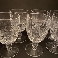 Six Waterford 'Colleen' Claret Glasses (2 of 3)