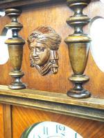 Gustav Becker Antique Walnut & Ebonised 8-day Twin Weight Striking Vienna Regulator Wall Clock (9 of 14)