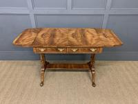 Good Burr Walnut Sofa Table c.1900 (15 of 19)
