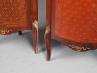Matched Pair of French Inlaid Corner Cabinets (15 of 18)