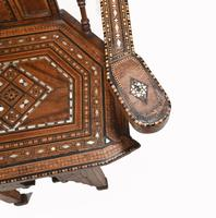 Arabic Chair Antique Damascan Furniture Inlay 1920 (4 of 10)