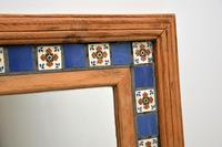 Large Mexican Tiled Mirror Vintage 1950's (5 of 10)