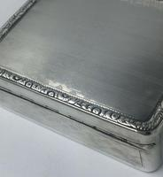 Superb Silver George III Large Table Snuff Tobacco Box William Seaman 1805 (2 of 8)