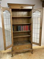 Edwardian Tall Bookcase (4 of 14)