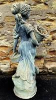 Large Composition Stone Figure / Garden Statuary (5 of 7)