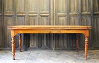 Large Extending Cherrywood Farmhouse Table (10 of 12)