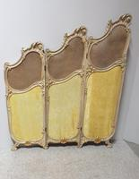 French Painted Three Fold Screen (2 of 14)