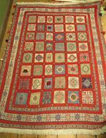 Superbly Colourful Antique Rahra Rug, Kilim Rug (12 of 13)