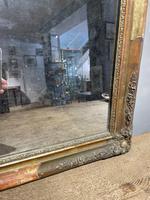 Small Antique Gilt Mirror (3 of 6)