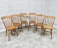 Set of 6 Windsor Stickback Kitchen Chairs (5 of 5)