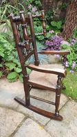 Good 19th Century Child's Rocking Chair (6 of 6)