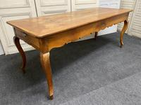 French Fruitwood Farmhouse Dining Table