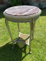 Original Paint & Gilt French Occasional Table (4 of 6)