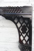 Aesthetic Movement, pierce-work corner shelves with galleries (a pair) c.1880 (7 of 35)