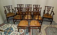 Set of 10 Mahogany Dining Chairs (7 of 7)