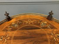 Victorian Inlaid Rosewood Etagere (8 of 9)
