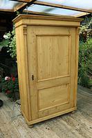 Fabulous Large Old Pine One Door Cupboard - Linen/Food/Kitchen/Larger/Wardrobe - We Del;iver! (5 of 11)