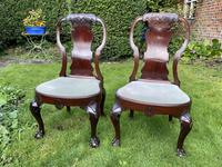 Pair of George I style chairs (6 of 8)