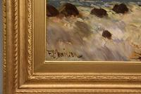 Oil Painting by Francis E. Jamieson - Brora Falls, Sutherland (4 of 5)