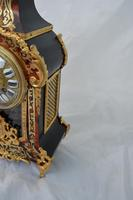 Fine Quality French Boulle Mantel Clock (4 of 5)