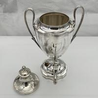 Antique George III Sterling Silver Tea Urn London 1796 Peter & Ann Bateman (5 of 12)