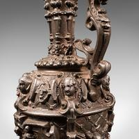Antique Candelabra, French, Spelter, Candlestick, Ewer, Victorian c.1900 (11 of 12)