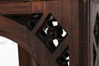 19th Century Victorian Gothic Pine Console Table (4 of 9)