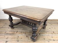 Early 20th Century Antique Oak Coffee Table (4 of 12)