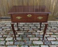 George II Period 'Virginia Walnut' Lowboy (2 of 4)