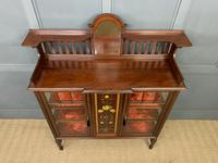 Shapland & Peter Mahogany Display Cabinet (4 of 16)