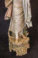 Impressive Large Antique Figure of Young Girl (6 of 28)