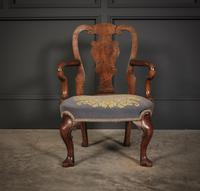 Small Queen Anne Style Childs Chair (6 of 9)