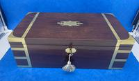 Georgian Solid Mahogany Box (4 of 11)