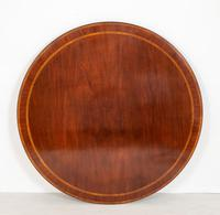 Mahogany Regency Style Circular Dining Table (5 of 8)