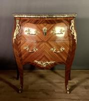 Small French Louis XVI Style Bombe Commode (7 of 12)