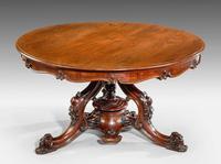 Victorian Period Mahogany Centre Table (3 of 5)