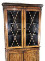 Antique Early 19th Century Oak Standing Corner Cupboard (2 of 7)