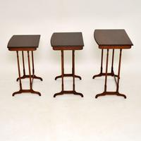 Antique Mahogany Nest of  Tables (10 of 10)