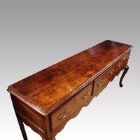 George III Oak Cabriole Leg Dresser (11 of 12)